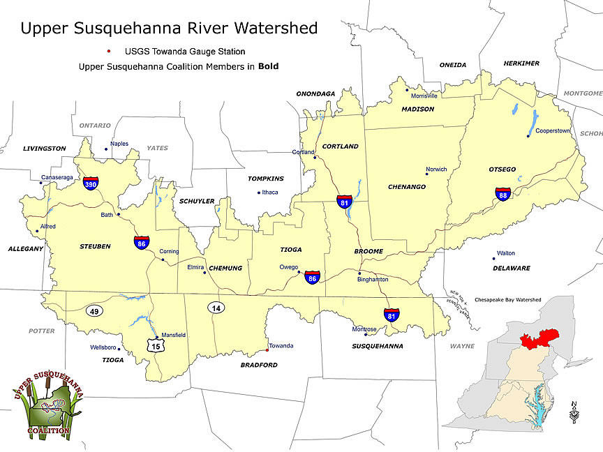 Watershed Wednesday: Upper Susquehanna Coalition (N.Y. and ...